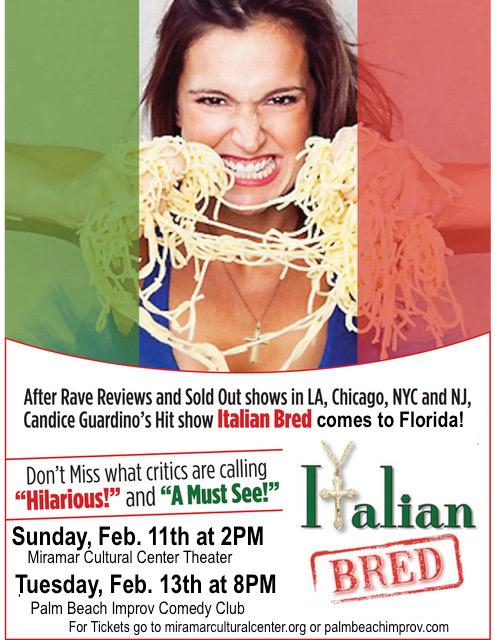 Italian Bred off Broadway Show comes to Florida