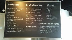 Coco Pazzo Fort Lauderdale Black Board Pizza Menu